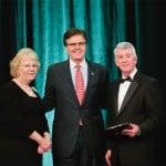 2014 Gala: Tim and Lyndsay Lambert with Dan Patrick