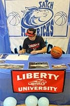 Home Schooler Signs Letter of Intent