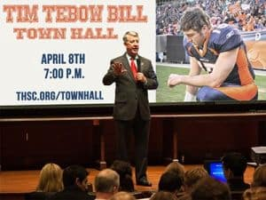 Tebow Bill Town Hall Meeting