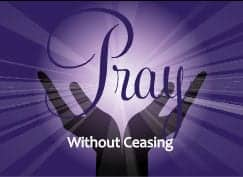 Pray Without Ceasing - Texas Home School Coalition - THSC
