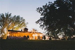 River Pavilion Overlooking the Brazos River Plain