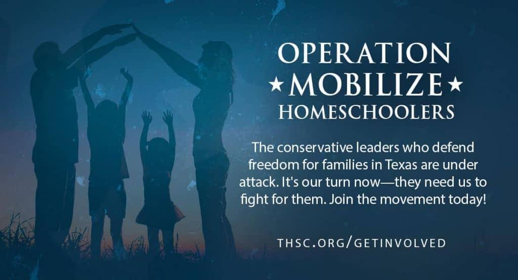 Operation Mobilize Homeschoolers