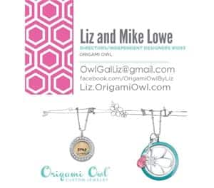 Liz and Mike Lowe - Origami Owl