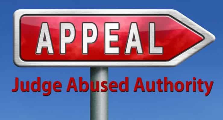 Judge Abused Authority