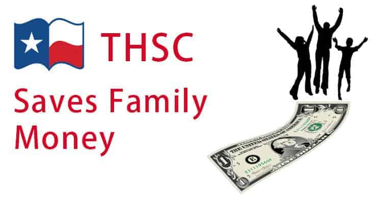 THSC Saves Family Money