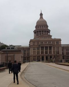 2015 THSC Watchmen head to the Captitol for the Speaker vote- photo courtesy of THSC Watchmen