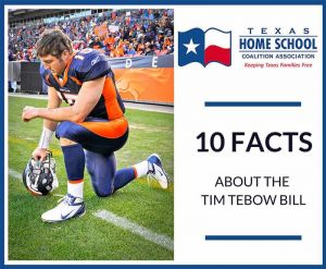 Ten Facts About the Tim Tebow Bill