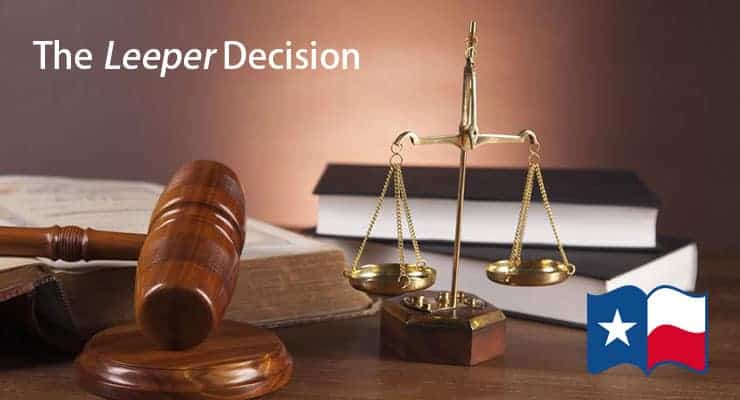 The Leeper Decision