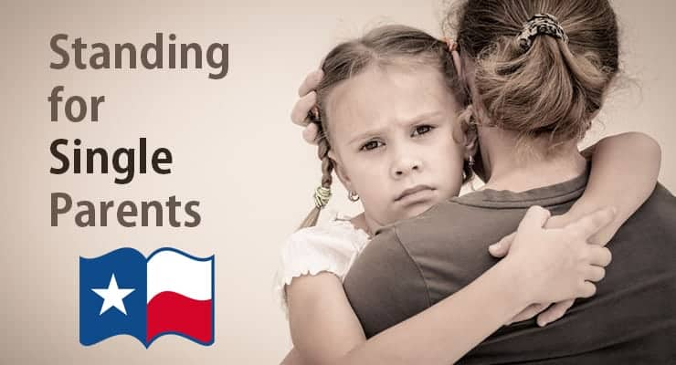 east texas single parents Although our location in texas allows us to offer lower costs, we have worked with surrogates, egg donors and intended parents from nearly every state.