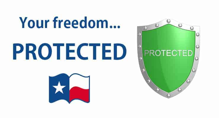Your Freedom... Protected