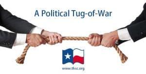 Political tug-of-war