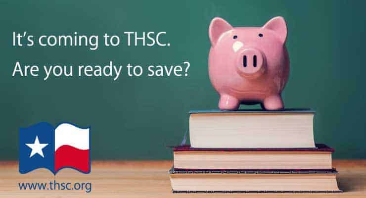 It's coming to THSC. Are you ready to save?