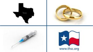 Gay Marriage, Texas, Vaccinations, Home Schooling