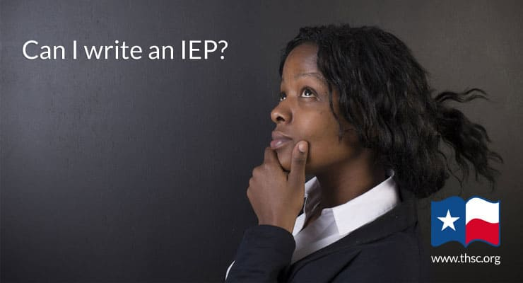 Do I need the public school to write an IEP for my special needs student?