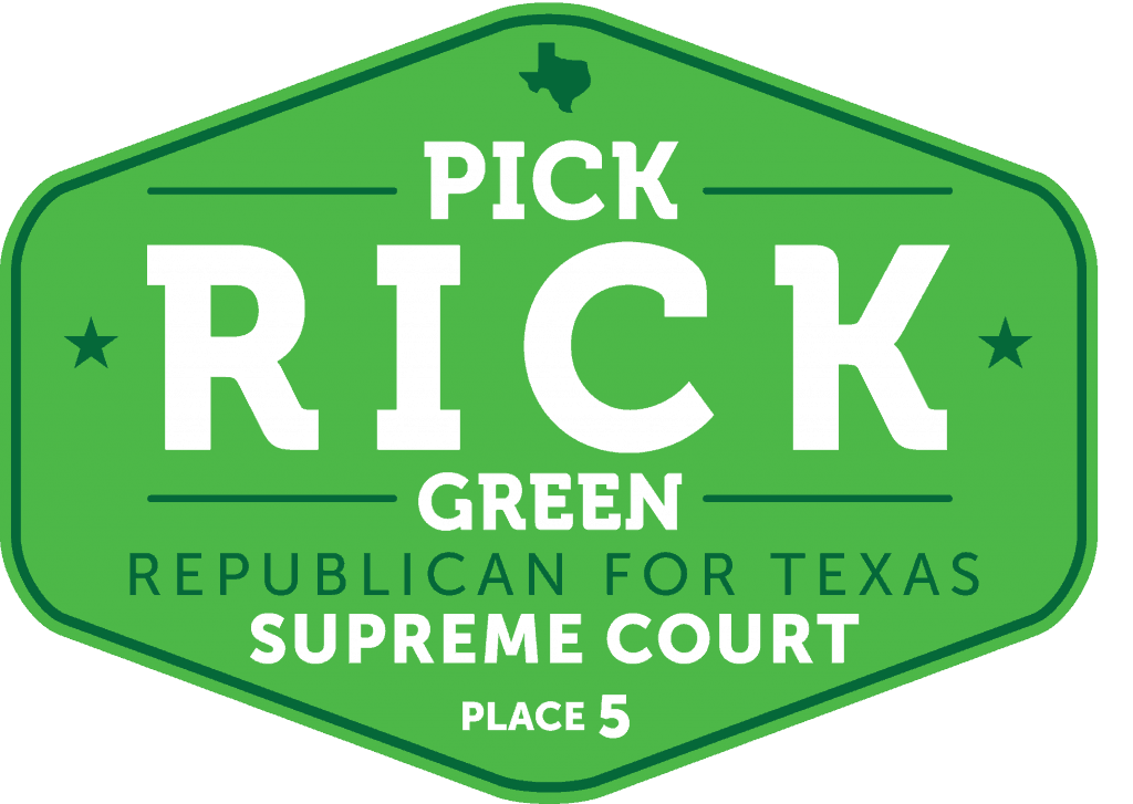 Rick Green Texas Supreme Court Place 5