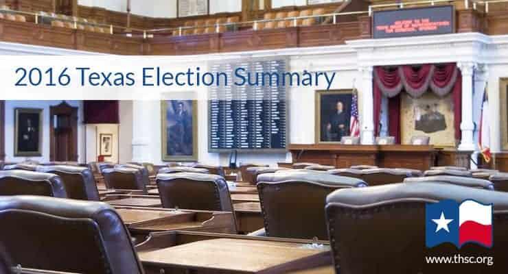 2016 Primary Election Summary
