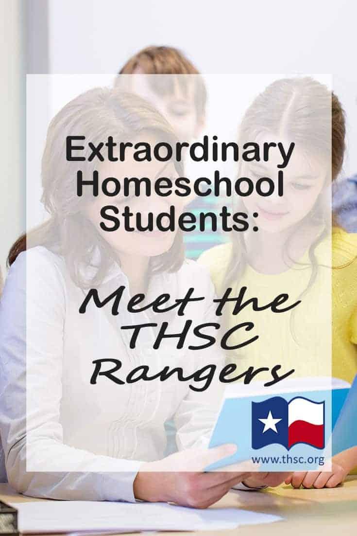 Extraordinary Homeschool Students: Meet The THSC Rangers