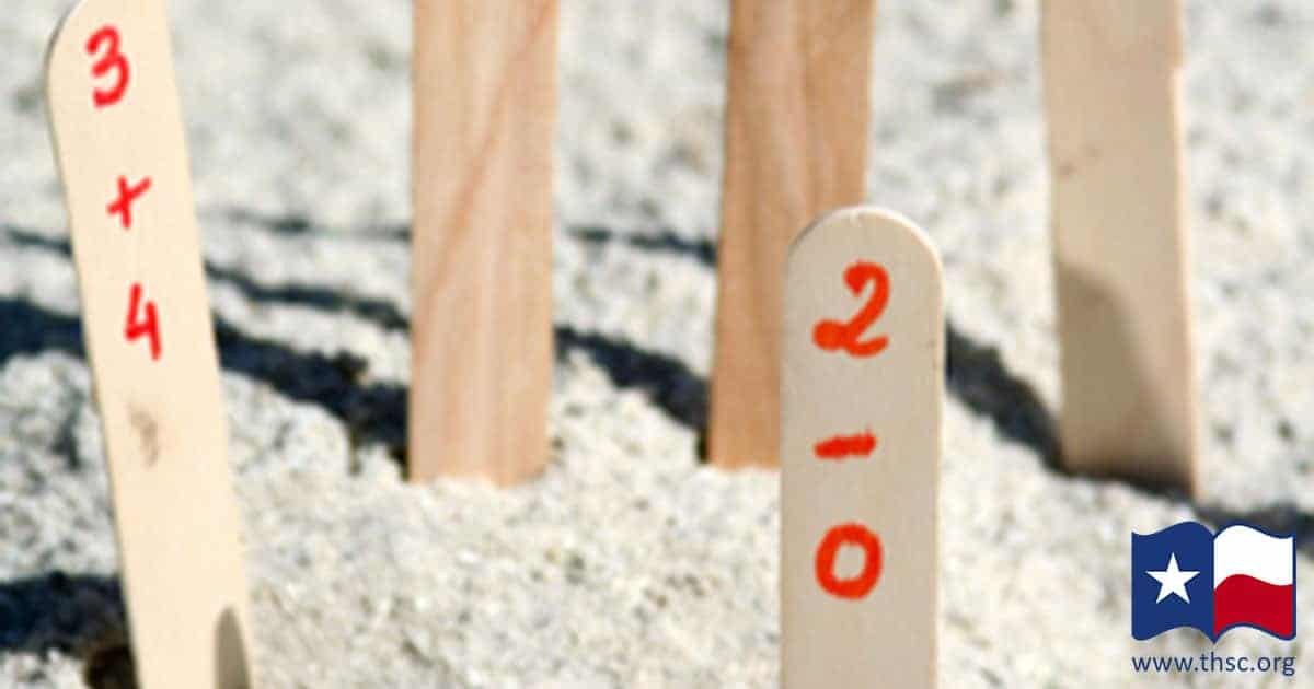 Sandbox Math Facts: 5 Ways to Turn Beach Day into a Homeschool Lesson