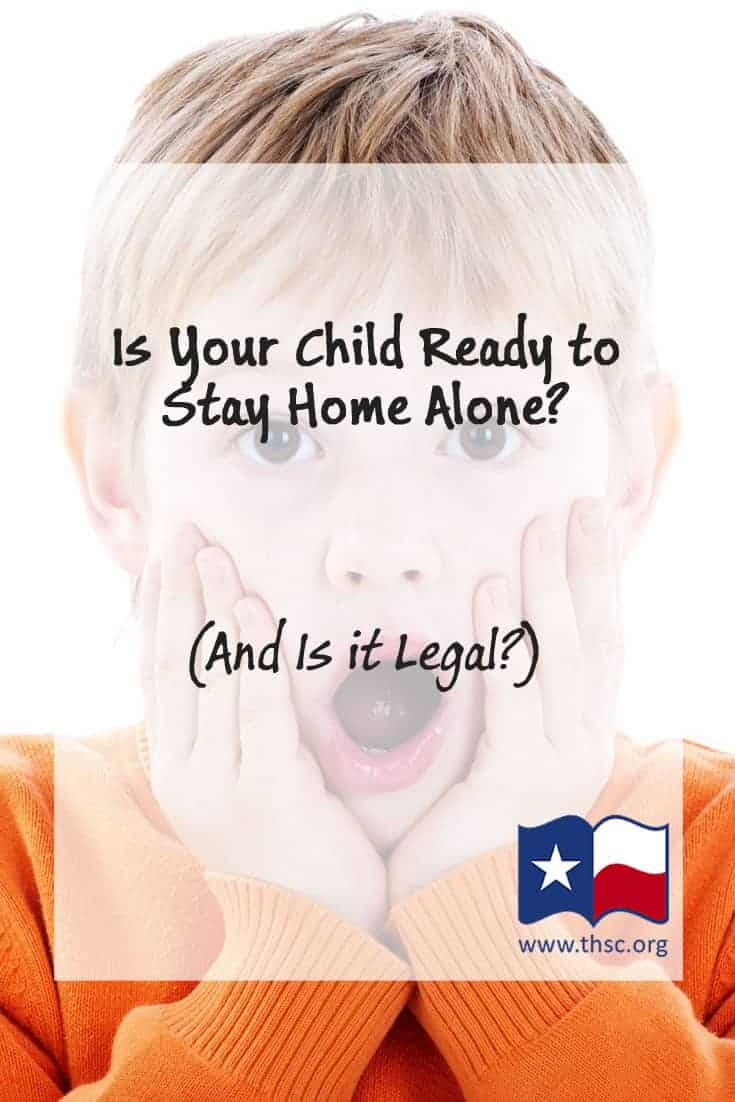 Is Your Child Ready to Stay Home Alone? (And is it legal?)