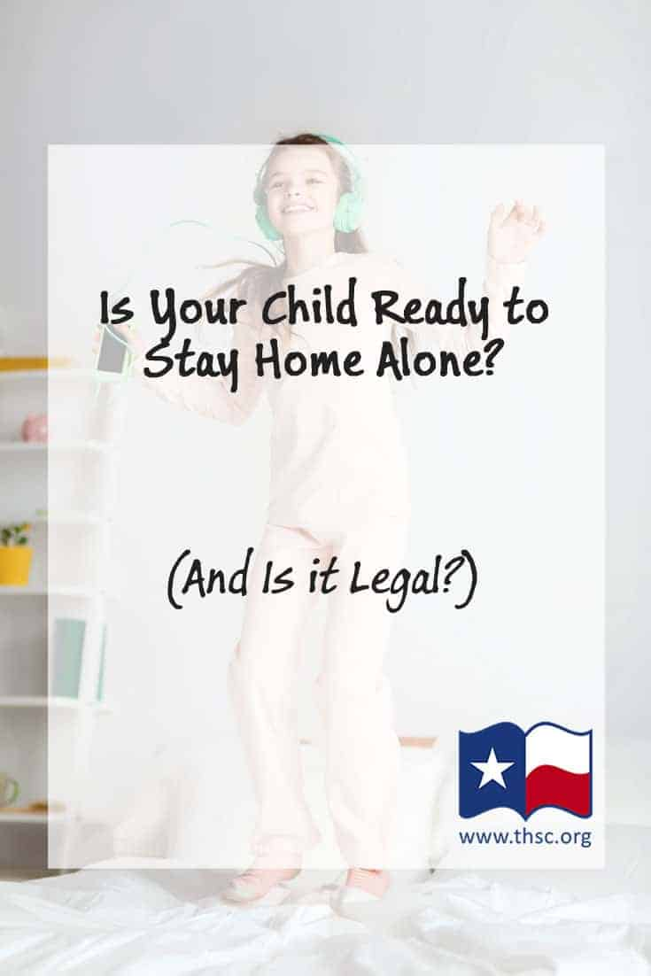 Is Your Child Ready To Stay Home Alone And Is It Legal