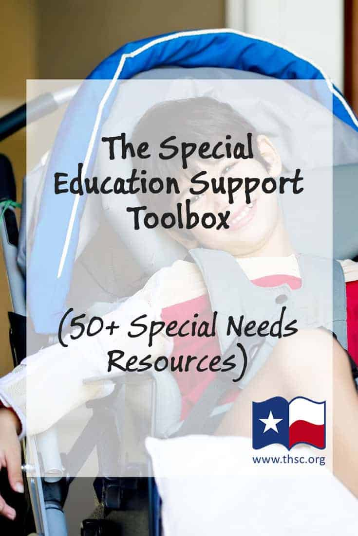 The Special Education Support Toolbox (50+ Special Needs Resources)