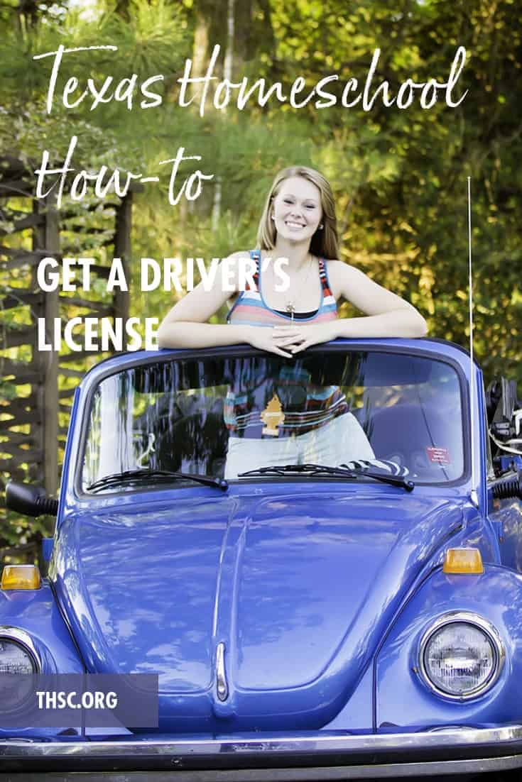 Texas Homeschool How-to Get a Driver's License