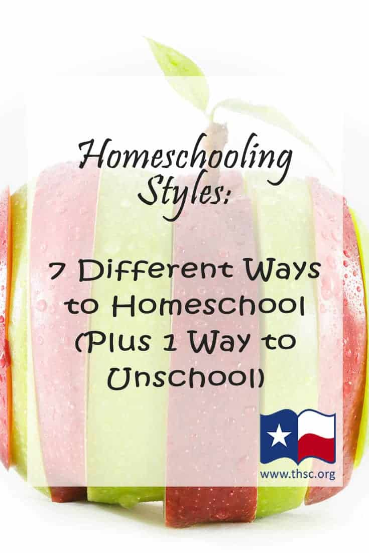 Homeschooling Styles: 7 Different Ways to Homeschool (Plus 1 Way to Unschool)