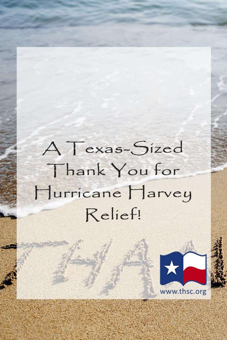 A Texas-Sized Thank You for Hurricane Harvey Relief!