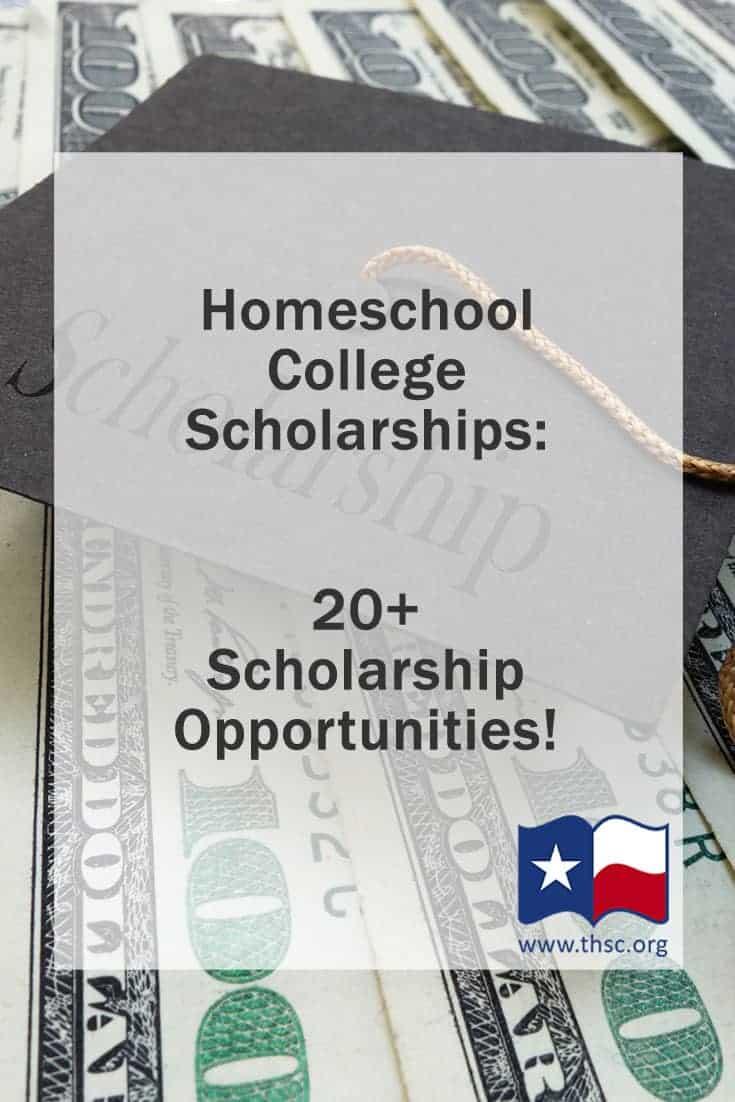 Homeschool College Scholarships: 20+ Scholarship Opportunities!