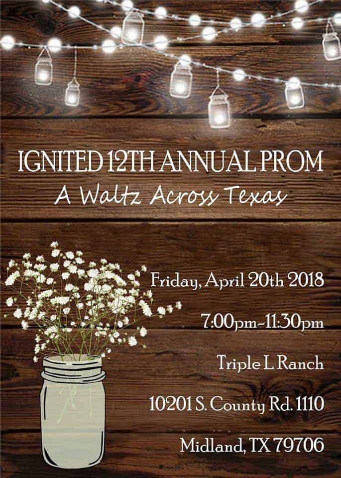 Odessa/Midland Area Homeschool Prom