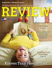 The REVIEW Homeschooling magazine is free