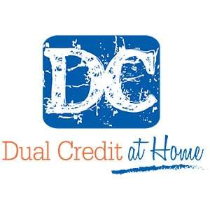 Dual Credit at Home Logo