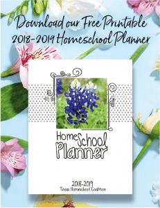 2018-2019 THSC Planner