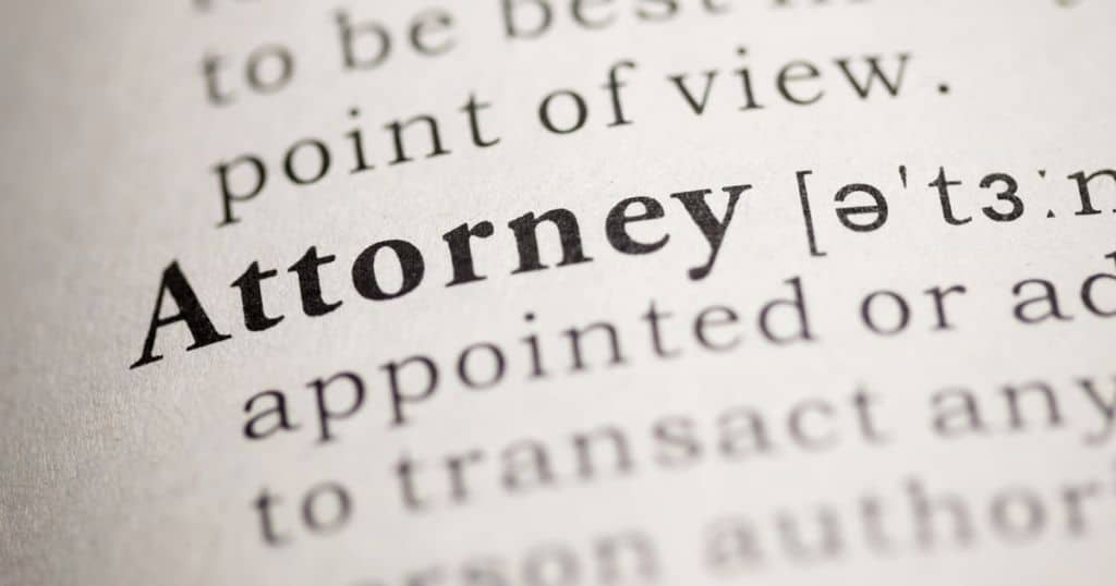 Attorney Definition