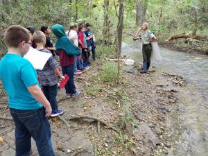 Lockhart State Park Homeschool Class: Stream Study