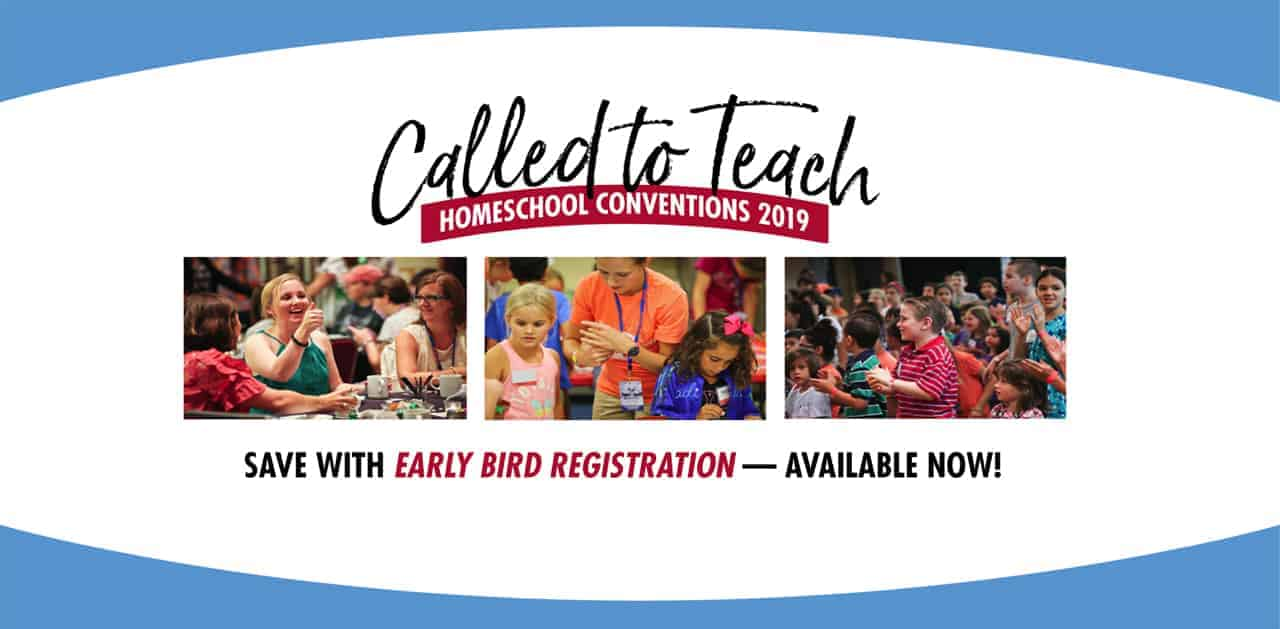 homeschool conventions called to teach