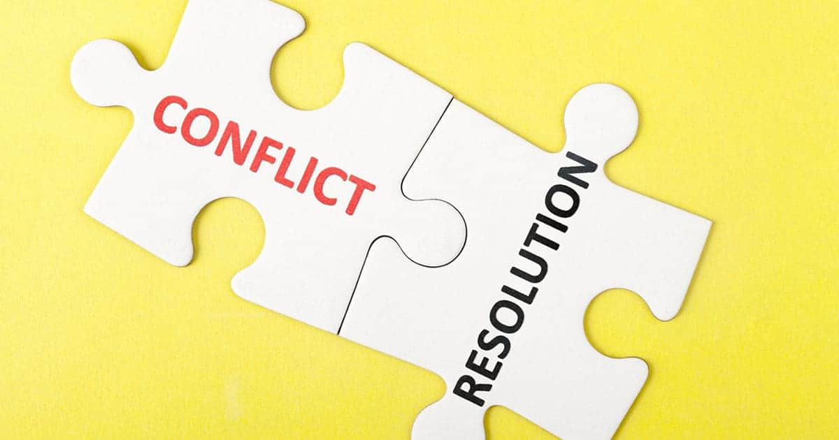 How to Resolve Conflict in a Group