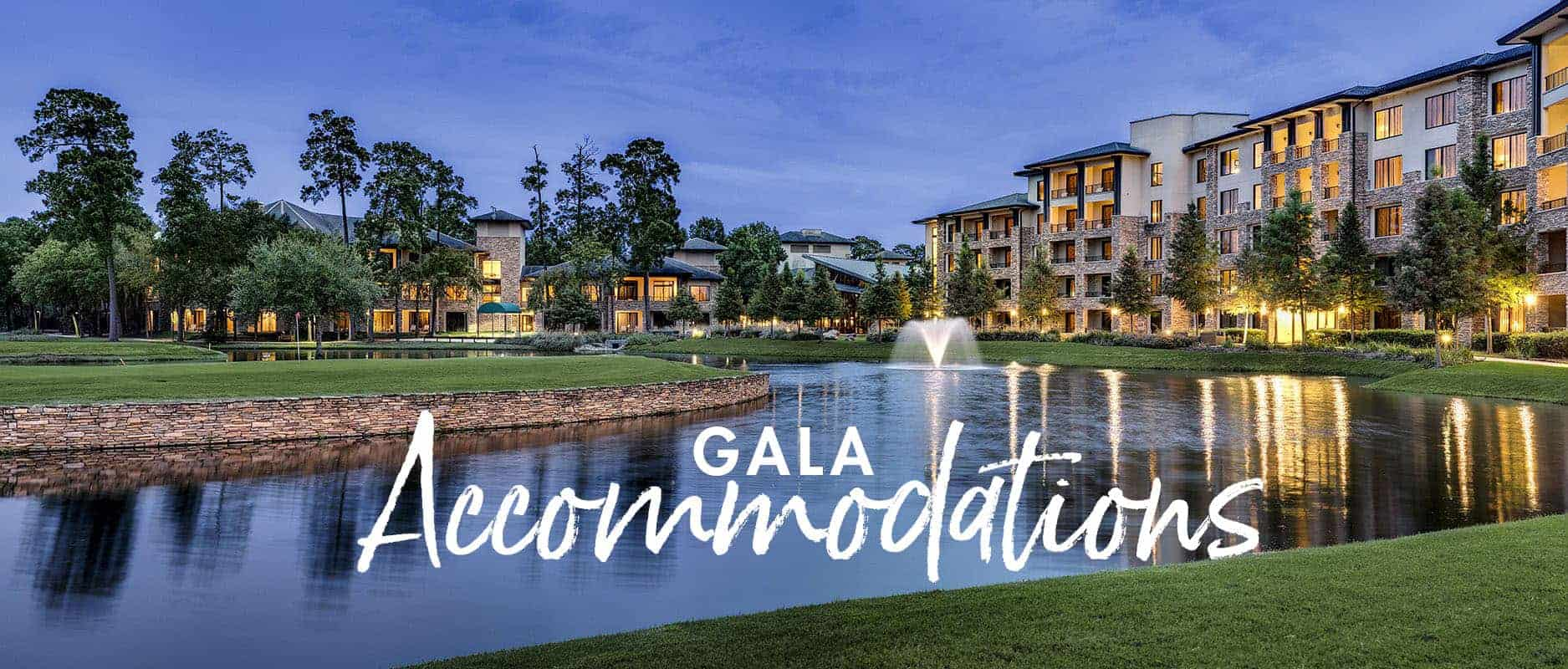 2019 Gala Accommodations