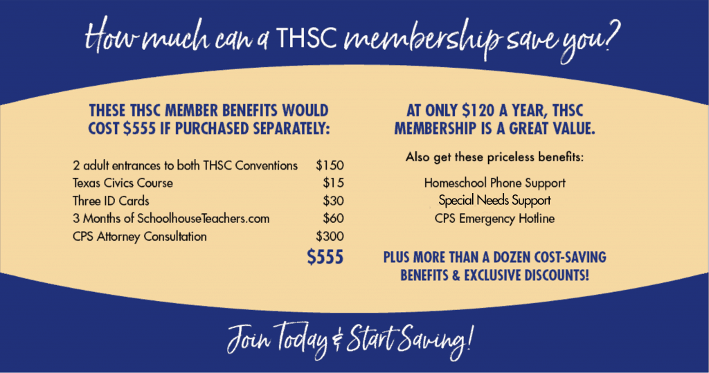 THSC Membership Benefits
